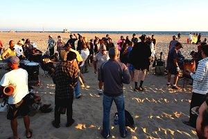 Drumming Session, Venice Beach, CA