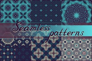 Set of seamless textures
