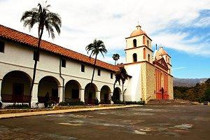 Cathedral, Mission Santa Barbara, CA