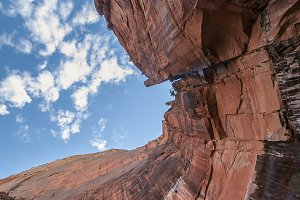 Red Mountain clifs