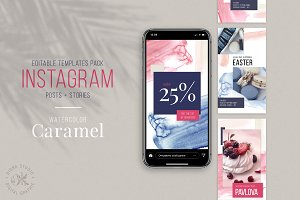 Instagram Stories and Posts Template