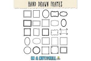 Hand Drawn Frames Doodle Frames