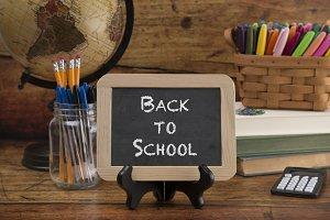 Back to School Themed Background