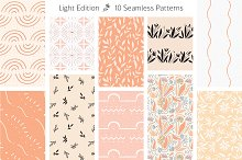 Seamless Pattern Set | S.F. by  in Patterns