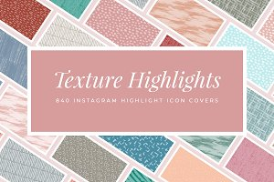 Texture Highlight Covers