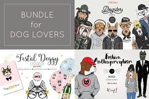 Illustrations Bundle for Dog Lovers