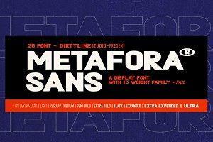 50% OFF | METAFORA® SANS - 26 FONT