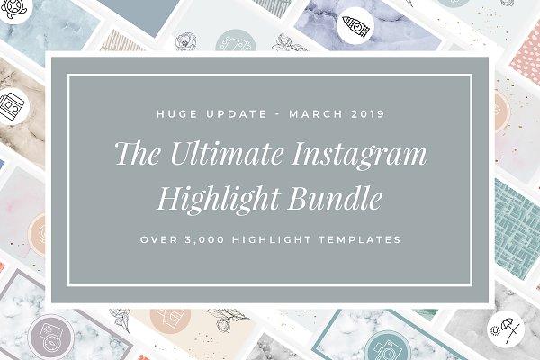 3,000+ Instagram Highlight Covers