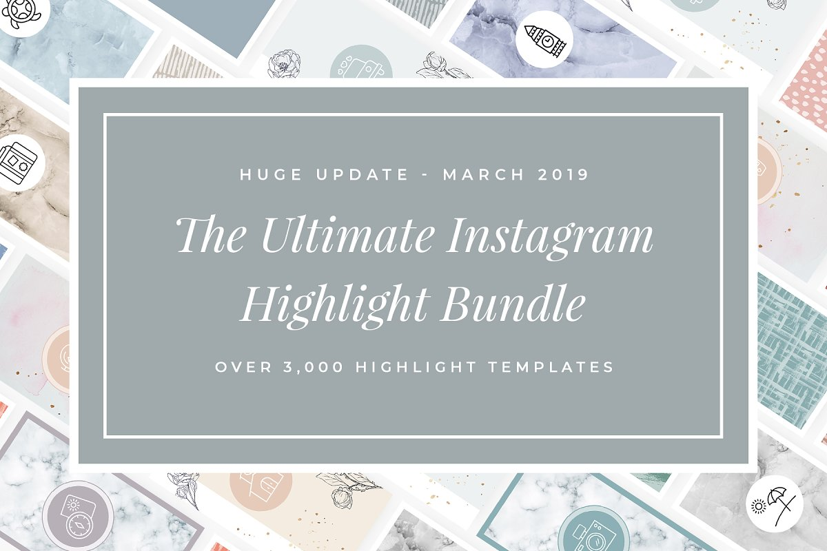 3,000+ Instagram Highlight Covers in Instagram Templates - product preview 2