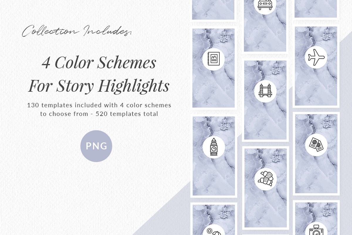 3,000+ Instagram Highlight Covers in Instagram Templates - product preview 5