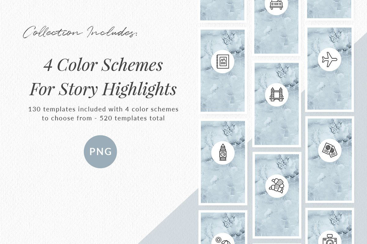 3,000+ Instagram Highlight Covers in Instagram Templates - product preview 7
