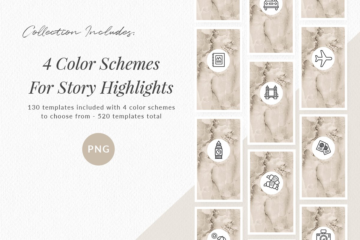 3,000+ Instagram Highlight Covers in Instagram Templates - product preview 9