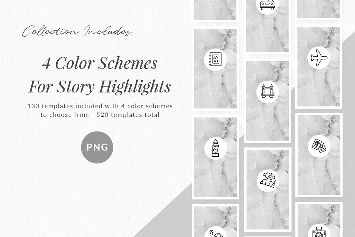 3,000+ Instagram Highlight Covers in Instagram Templates - product preview 11