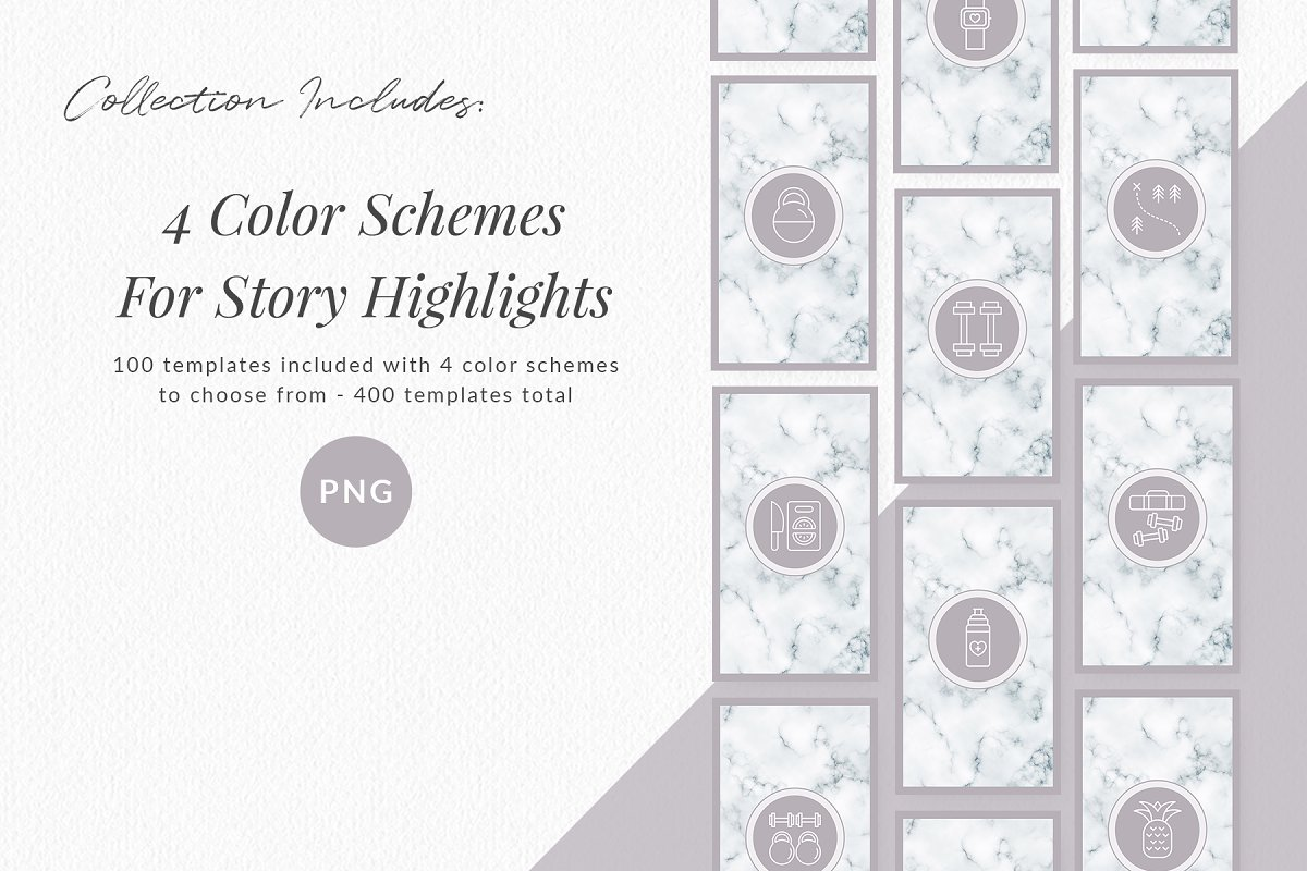 3,000+ Instagram Highlight Covers in Instagram Templates - product preview 46