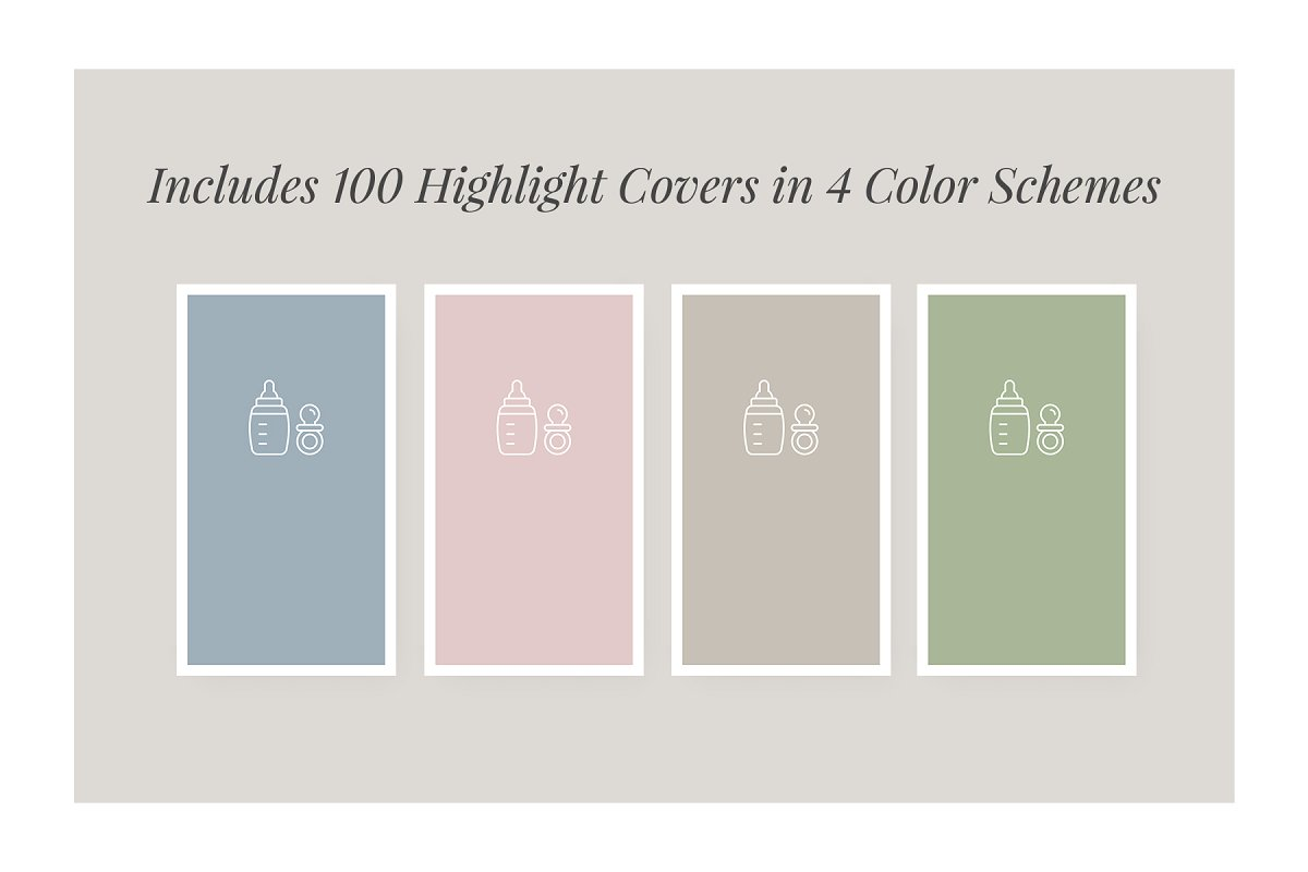 3,000+ Instagram Highlight Covers in Instagram Templates - product preview 54