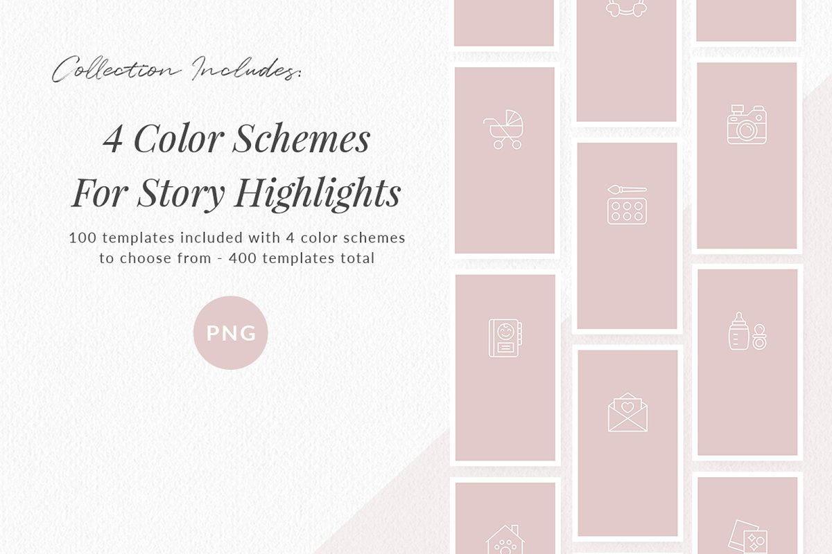 3,000+ Instagram Highlight Covers in Instagram Templates - product preview 55