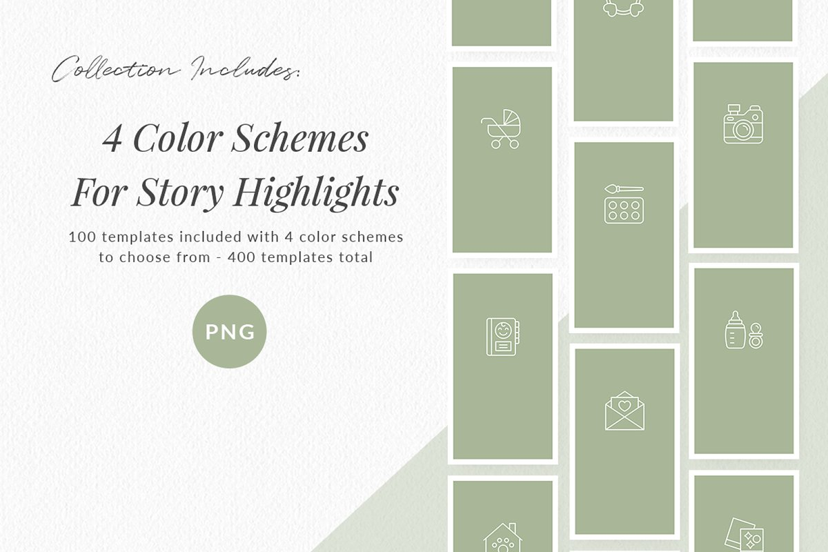3,000+ Instagram Highlight Covers in Instagram Templates - product preview 57
