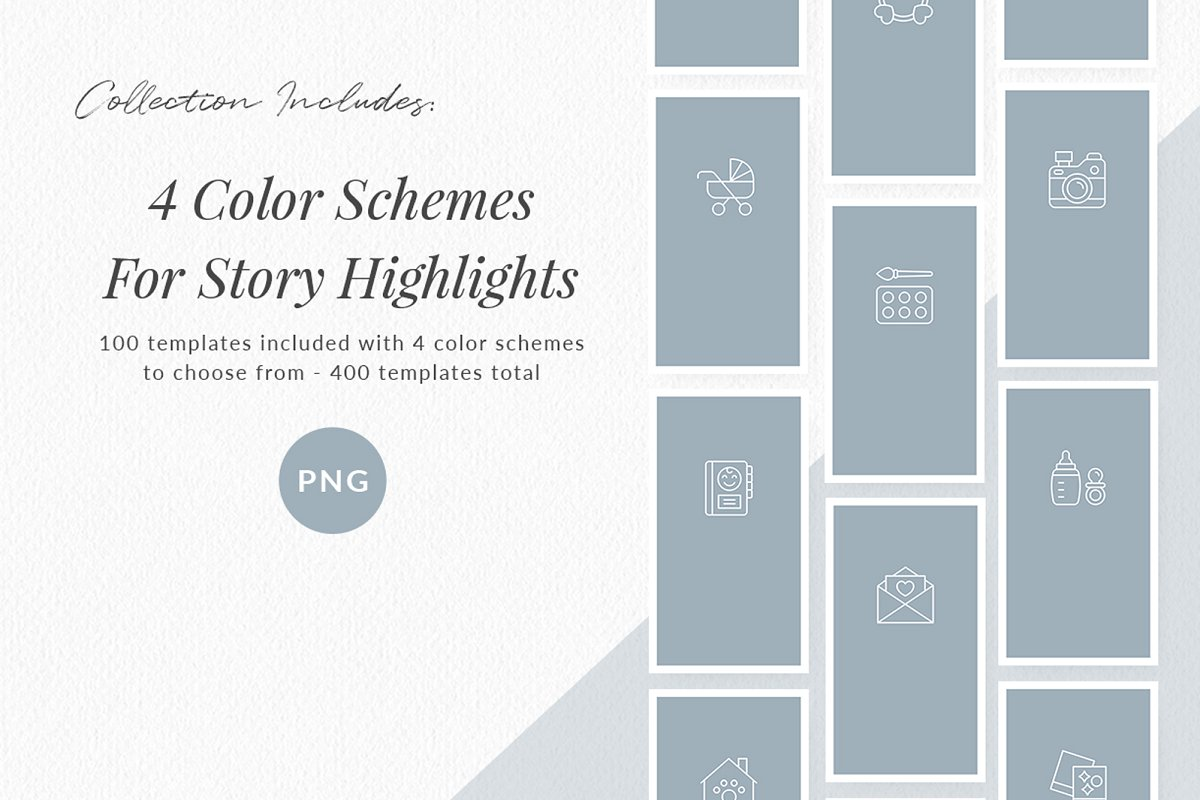 3,000+ Instagram Highlight Covers in Instagram Templates - product preview 59