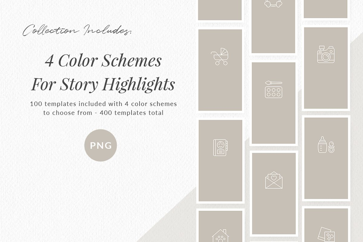 3,000+ Instagram Highlight Covers in Instagram Templates - product preview 61
