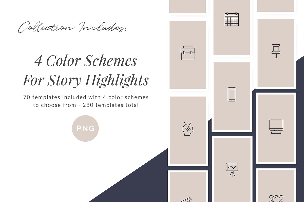 3,000+ Instagram Highlight Covers in Instagram Templates - product preview 67