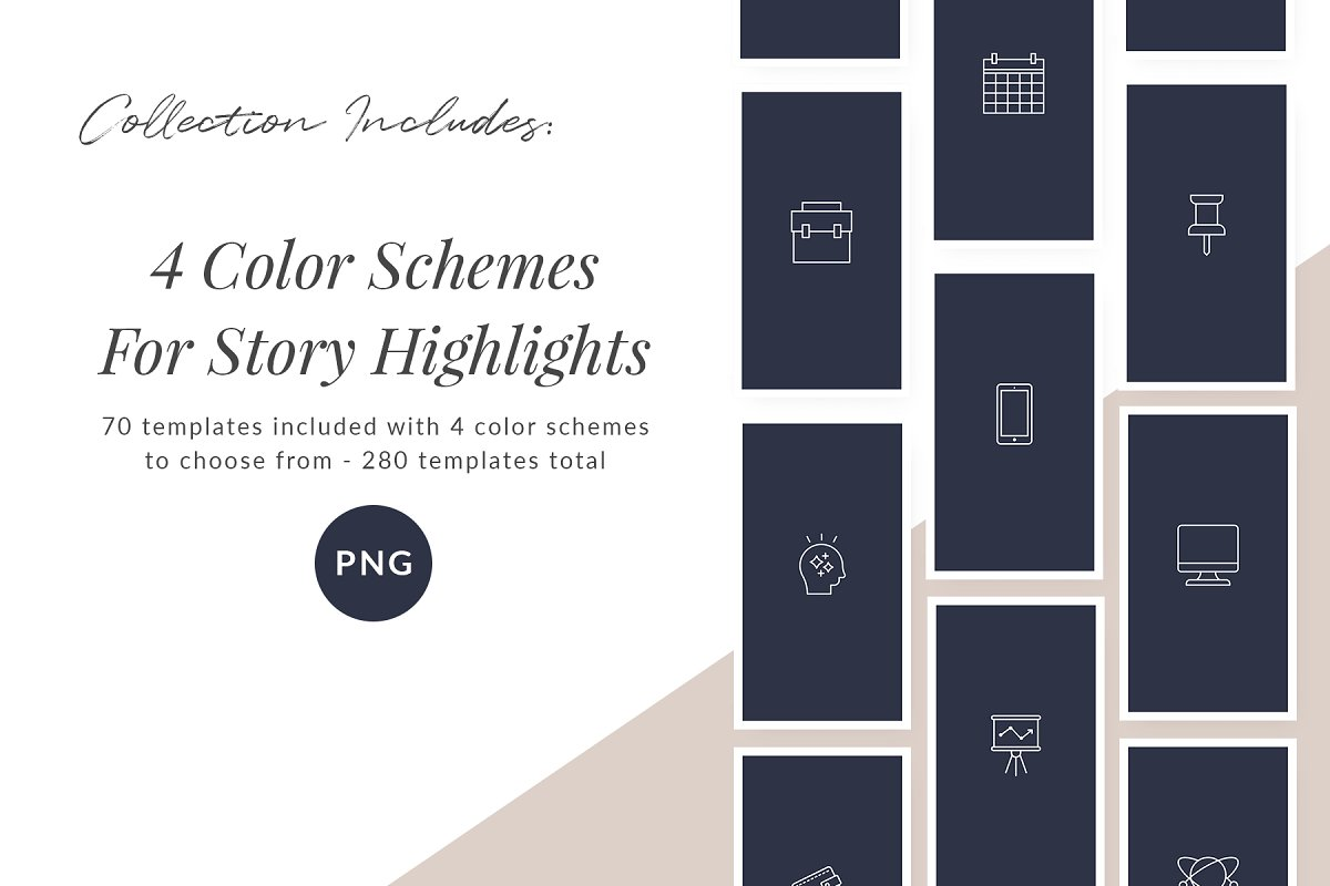 3,000+ Instagram Highlight Covers in Instagram Templates - product preview 69
