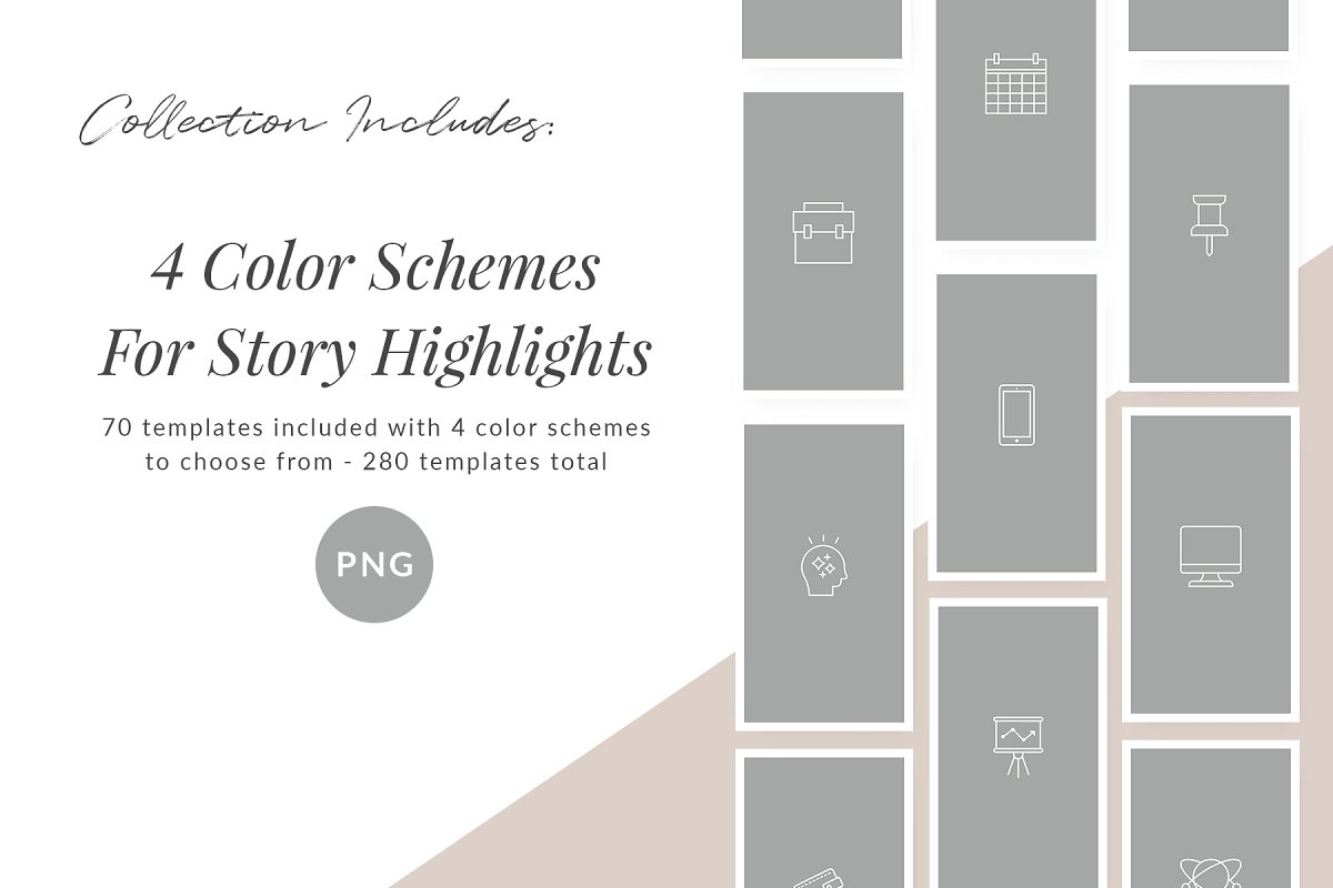 3,000+ Instagram Highlight Covers in Instagram Templates - product preview 71