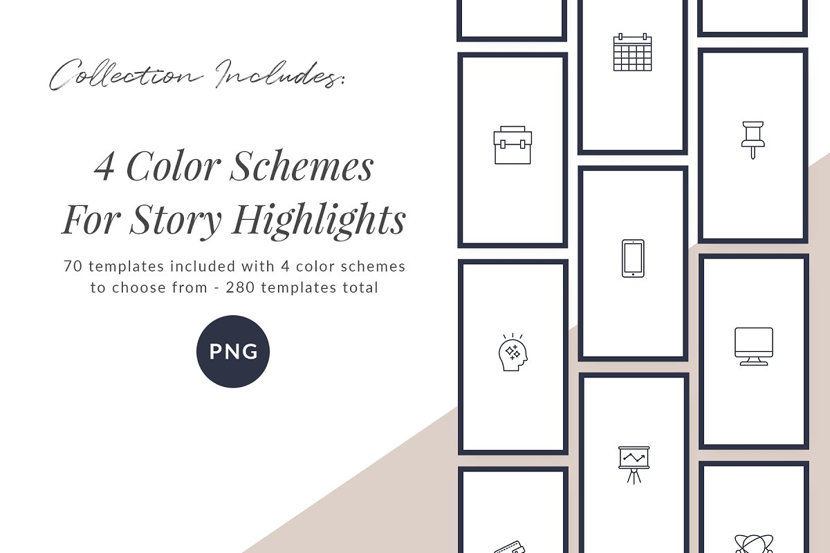 3,000+ Instagram Highlight Covers in Instagram Templates - product preview 73