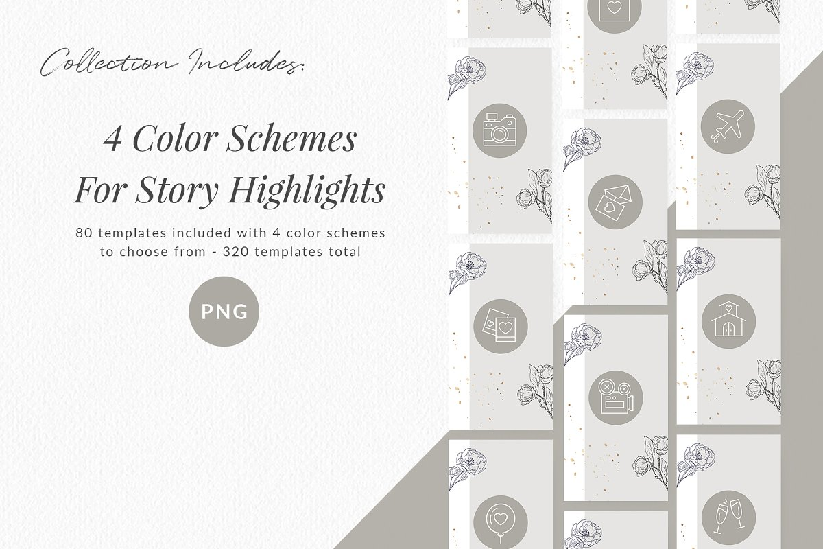 3,000+ Instagram Highlight Covers in Instagram Templates - product preview 1