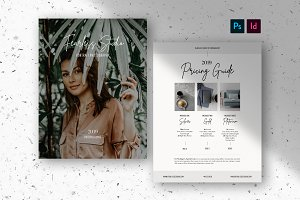 Pricing Guide Template - Photography