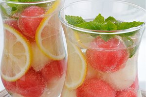 Watermelon melon drink