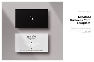 Minimal Business Card - Vol.1