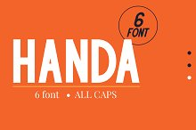 Handa by  in Sans Serif Fonts