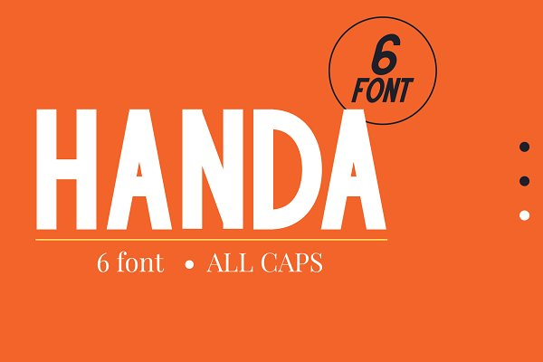 Fonts: Attype Studio - Handa