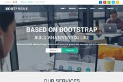 BootFrame - WordPress theme