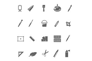 20 Art and Design Icons