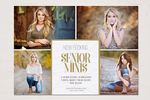 Senior Mini SessionTemplate
