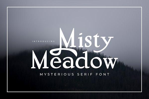 Misty Meadow - Mystical Serif Font