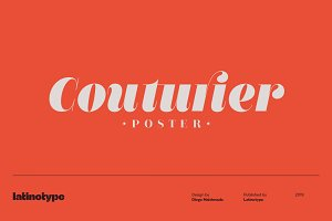 Couturier Poster Intro Offer 75% off