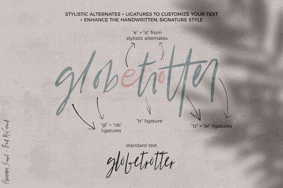 Globetrotter Signature Script