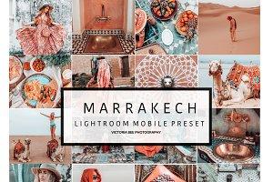 5 Mobile Lightroom presets MARRAKECH