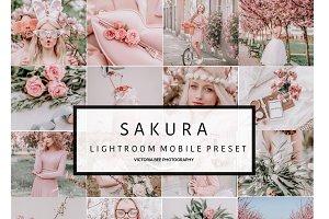 5 Mobile Lightroom presets SAKURA