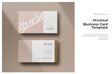 Minimal Business Card - Vol.6 by  in Templates