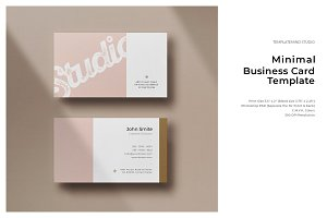 Minimal Business Card - Vol.6