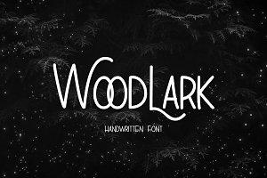 WoodLark Handwritten Font