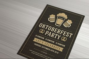 Oktoberfest Poster or Flyer