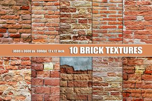 BRICK DIGITAL TEXTURE BACKGROUND