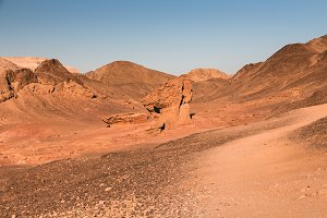 Geological formation in Timna Park