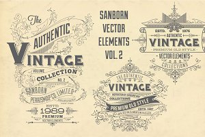 Sanborn Vector Elements Vol. 2