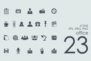 23 office icons