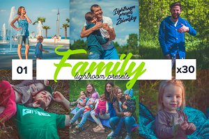 x30 Family Lightroom Presets